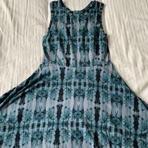 Tie dyed Vans dress